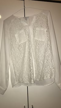 Women white chiffon blouse Sharjah
