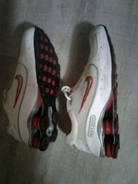 pair of white-and-red Nike running shoes Victoria, V8X 3W4
