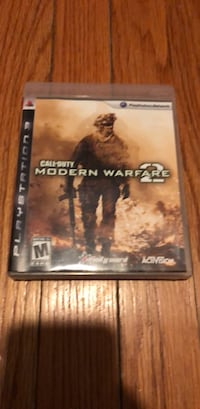 Call of Duty Modern Warfare 2 PS3 game case Montgomery, 12549