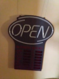 Brand new open sign