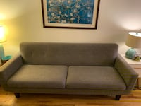 Sofa - TOV James Grey Linen New York
