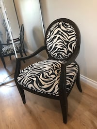 Leopard Decor Arm Chair Burlington, L7L 5Y1