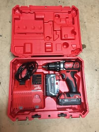 Red and black milwaukee cordless drill Sacramento, 95833