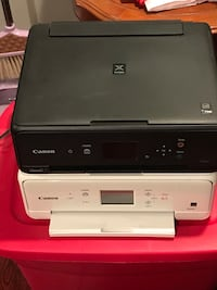2 Canon printer no ink but working
