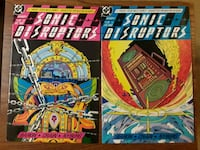 Sonic Disrupters comics comic books DC Comics 1-6 Falls Church, 22046