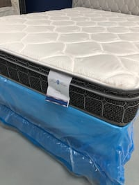 $140 Full Size Pillow Top Mattress Set Norman