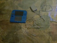 blue Nintendo 2DS with charger  Winnipeg, R3G 1Y3