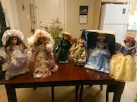 Porcelain doll collection  St. Albert, T8N 4E9