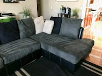 gray and black sectional couch Salinas, 93907