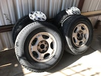 OEM Wheels and tires 16' for Chevrolet 6 lugs. tires need to be replaced soon.  Amarillo, 79104