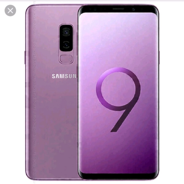 Selling s9 plus lilac purple no scratches