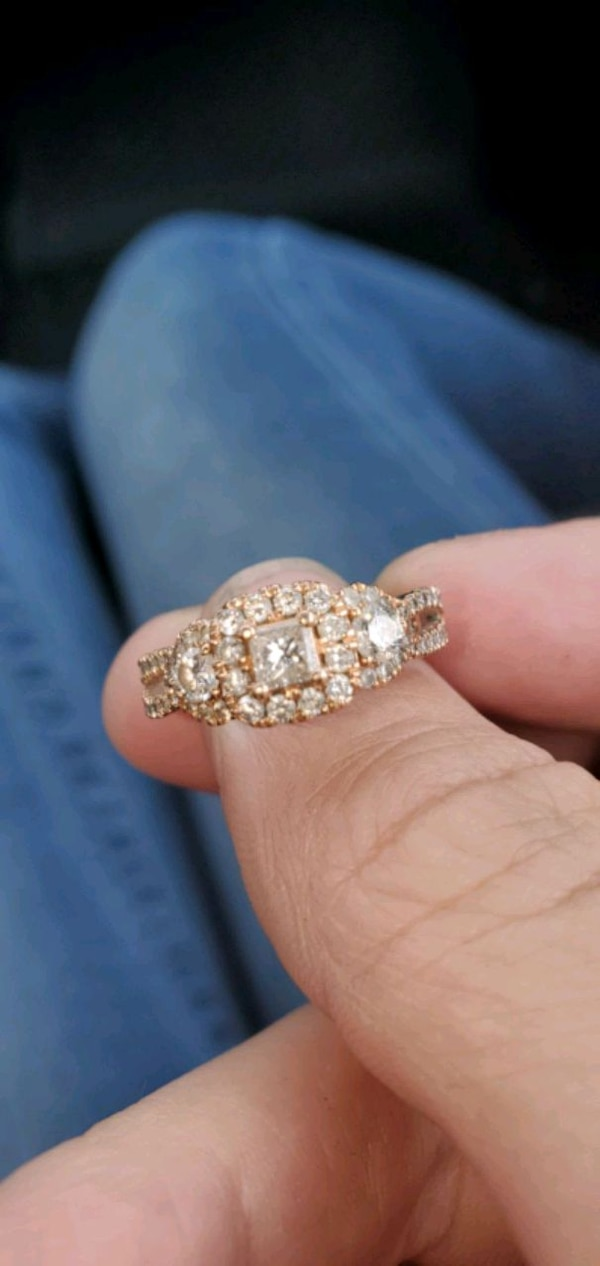 Used Size 6 Rose Gold Ring For Sale In Grove City Letgo