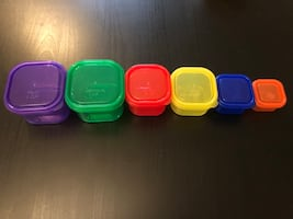 Portion Control Diet Food Containers