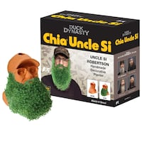 Brand New, Sealed Duck Dynasty Chia Pet Uncle Si & Willie Handmade Decorative Planter Winnipeg