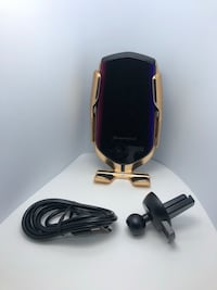 Wireless sensor phone charger R2 with black box