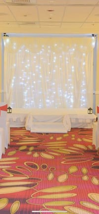 Wedding backdrop lights included Falls Church, 22043