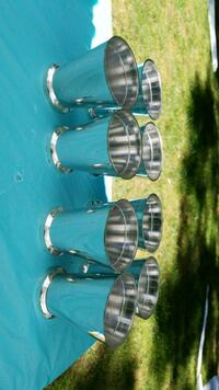 Plastic Silver Cups for party decor(8) Sparta Township, 07871