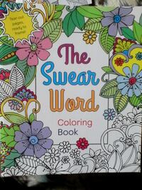 For Grown Ups only Coloring Books - Swear Words +