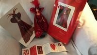 Female doll with red gown. Bob Mackie collectible. Barbie  296 mi