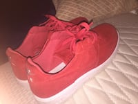 pair of red Nike low-top sneakers Silver Spring, 20906