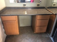 Counter with drawers 36 high and 62 long 227 mi