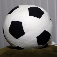 Used, Ikea Plush Soccer Ball for sale  Antelope, CA