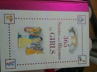 365 stories and rhymes for girls book.