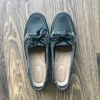LNC Sperry Boatshoes - Black Vancouver, V5R 4X4