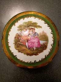 Limoges Trinket Box with Lid