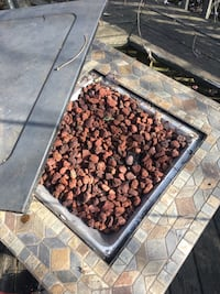 Propane Fire Pit with Lava Rocks and Tank Mc Lean, 22101