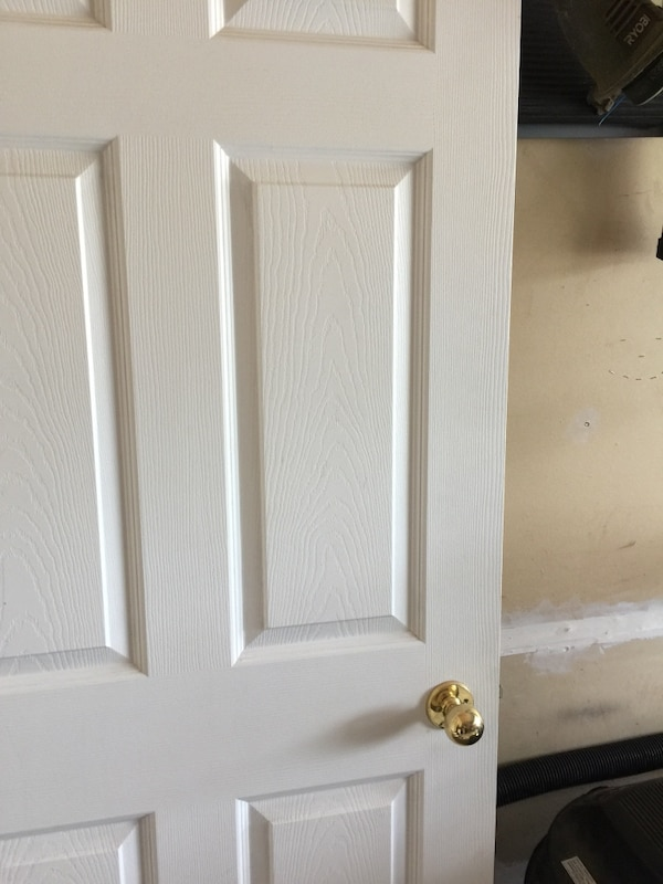 Used 32 Inch Raise 6 Panel Interior Door With Hardware For In Barrie Letgo