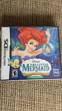Nintendo DS Game The Little Mermaid