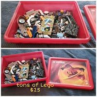Tons of Lego comes with Lego Bin St. Catharines