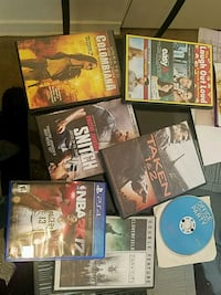 Movies $2 each and Video Game $5 Hyattsville, 20781