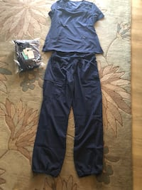 Two sets of new scrubs large blue  Bradenton, 34207