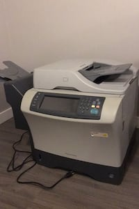 HP LaserJet 4345 printer, scanner, copier multifunction (working)
