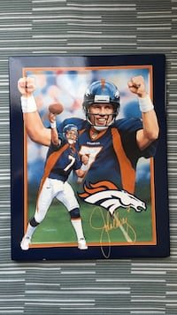 John Elway wall hanging plaque / plate St Catharines, L2M 6W6