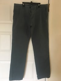 HUGO BOSS Men's Cotton Blend Navy Green Casual Pants Fremont, 94538