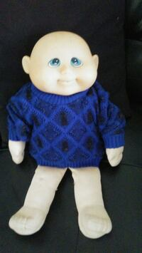 blue and white dressed doll El Paso, 79903