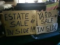 in door sale, everything goes.......you might find Albuquerque, 87108