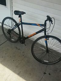 black and red hardtail mountain bike Grand Rapids, 49507