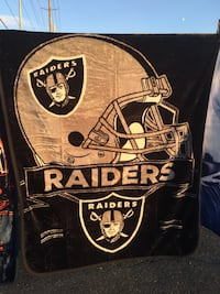 New plush blanket Raiders