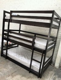 Twin triple bunk bed mattress