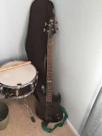 Bass, Case and Amp null