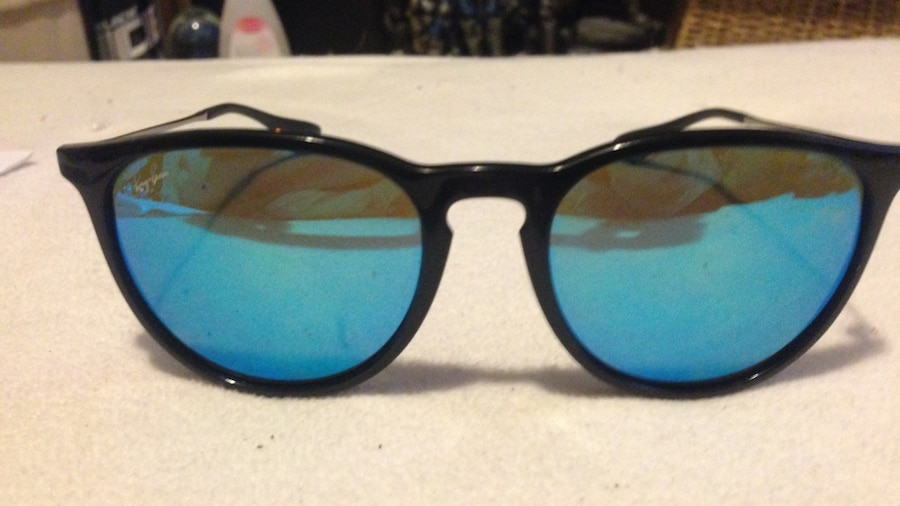 Blue Tinted Sunglasses  black framed blue tinted sunglasses in kelowna letgo