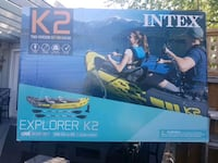 Two person inflatable kayak Port Perry, L9L 1G2
