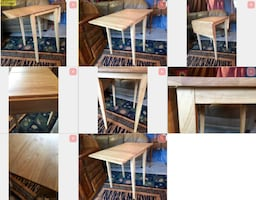 Drop Leaf Petite Table - I deliver locally