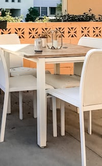 Outdoor table and chairs - Gloster