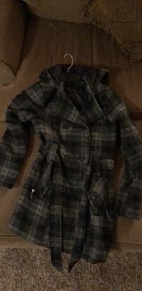 Plaid peacoat Knoxville, 21758