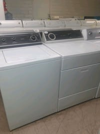 Whirhpool white washer and gas dryer set Vista, 92084